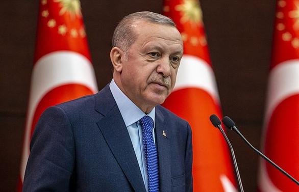 Cumhurbaşkanı Erdoğan'dan salgınla mücadelede kararlılık mesajı