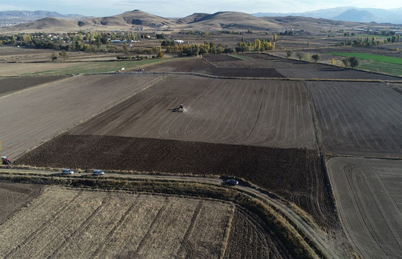 İç Anadolu'da 66 bin hektar arazi toplulaştırıldı