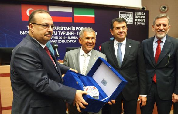Minnihanov: Türk sermayesi ve yatırımcısı Tataristan'a gelsin