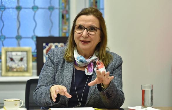 Bakan Pekcan, DEİK Türkiye-Avrasya İş Konseyi başkanlarıyla görüştü