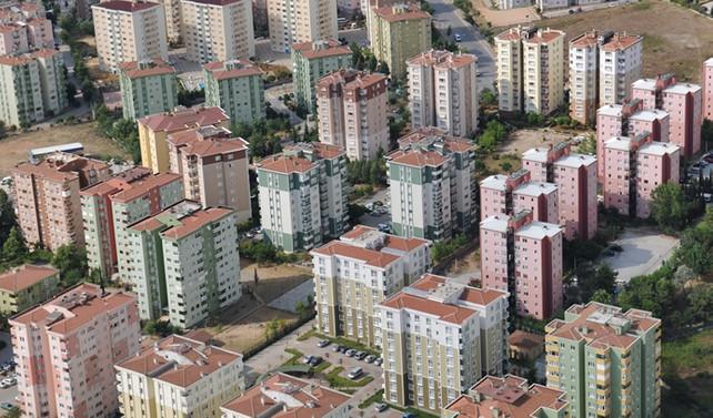 Ruhsatlandırılan bina sayısı arttı; yüzölçümleri azaldı