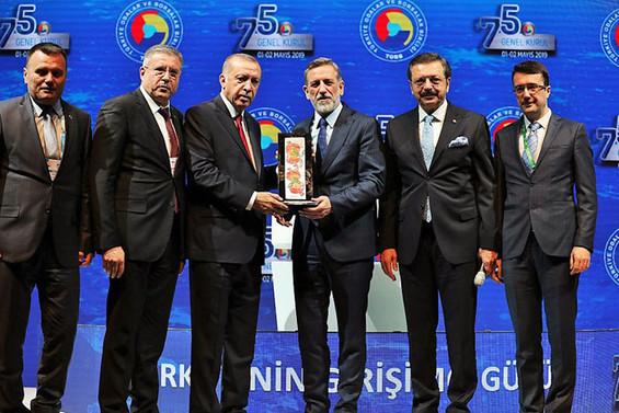 TOBB 'Ar-Ge İnovasyon/Üniversite-Sanayi İşbirliği Ödülü' BUTEKOM'un
