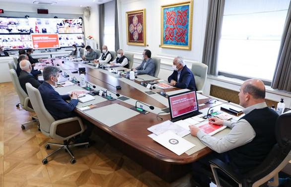 Bakan Soylu başkanlığında güvenlik toplantısı
