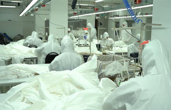 Maske ve tulum üretiminde tartışma kumaşa kaydı