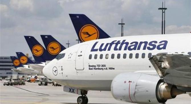 Almanya'dan Lufthansa'ya 9 milyar euro