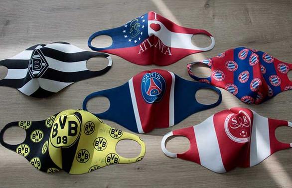 NBA, Bundesliga ve La Liga takımlarının maskeleri Bursa'dan