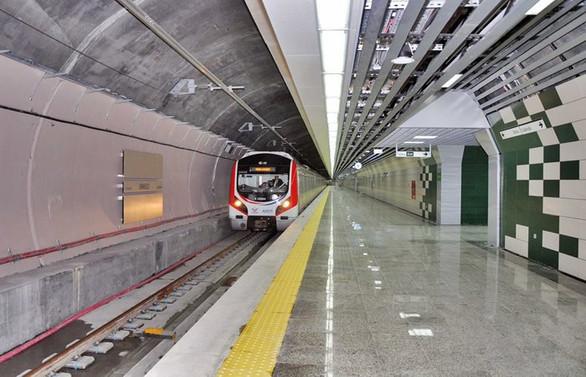 Marmaray'dan ilk yük treni yarın gece geçecek