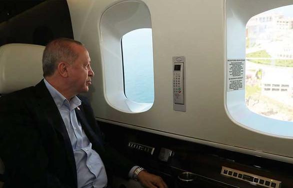 Erdoğan, İstanbul'da yapımı devam eden hastaneleri inceledi