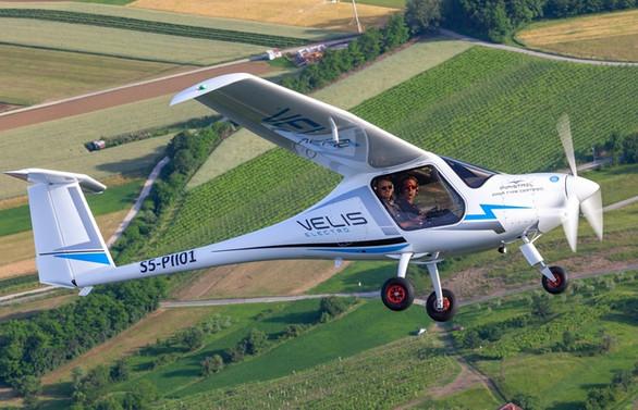 Tamamen elektrikli ilk uçağa sertifika verildi
