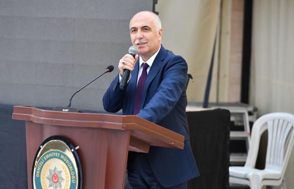 Mülkiye Başmüfettişliği'ne atanan Karahan,  Denizli'ye veda  etti