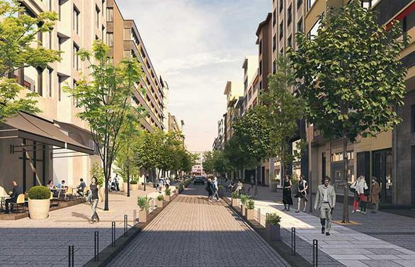 Abdi İpekçi Caddesi'nde çalışmalarının ilk etabı 20 Haziran'da tamamlanıyor