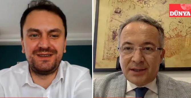 Progroup Başkanı Dr. Salim Çam DÜNYA'nın konuğu