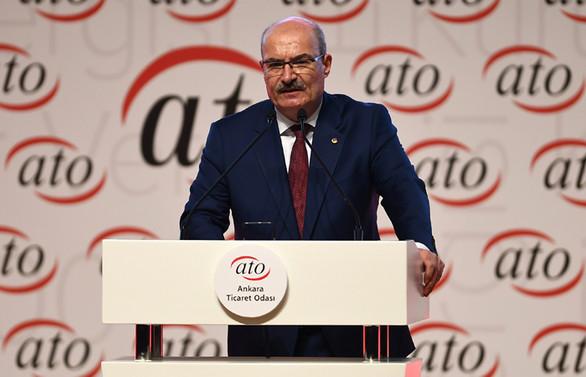 ATO Başkanı Baran'dan AVM'lerdeki işletmelere kira desteği talebi