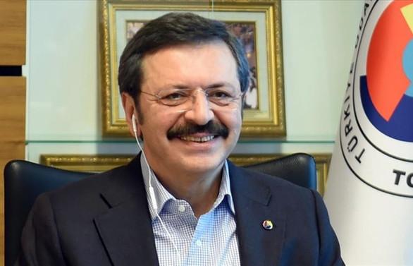 TOBB Başkanı Hisarcıklıoğlu, Türkiye-ABD ticari ilişkilerini değerlendirdi