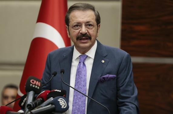 TOBB Başkanı Hisarcıklıoğlu'ndan Dünya Fuarcılık Günü mesajı