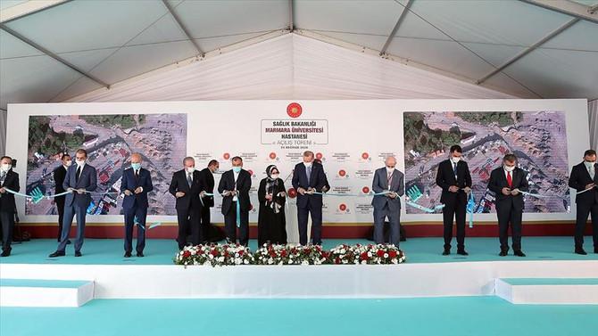 Marmara Üniversitesi Prof. Dr. Asaf Ataseven Hastanesi açıldı