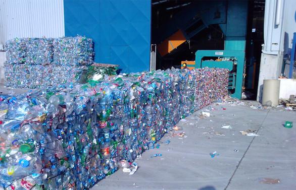 Atkasan, yıkamalı plastik geri kazanım tesisini devreye aldı