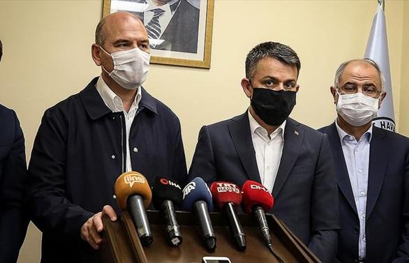 İçişleri Bakanı Soylu: Evi hasara uğrayanlara 5 bin lira yardımda bulunacağız