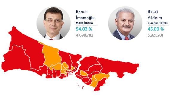 İstanbul 'Ekrem İmamoğlu' dedi