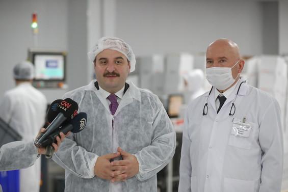 Varank: İlaç sanayisini desteklemeye devam edeceğiz