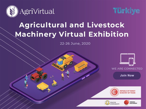 AgriVirtual sanal fuarını 100 bin kişi görüntüledi