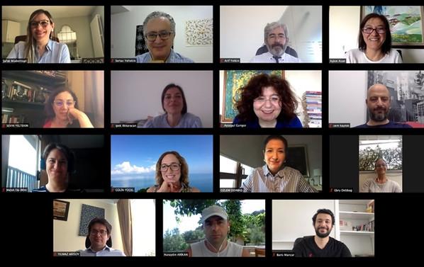 Etkiyap'ın ilk icra kurulu toplantısı online yapıldı