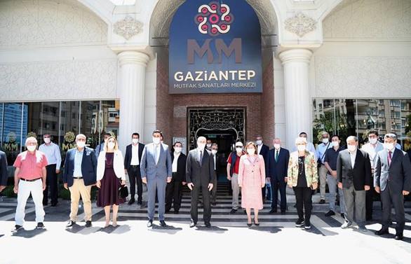 Gaziantep'te 'karekod menü' ile mesafeli sipariş dönemi başladı