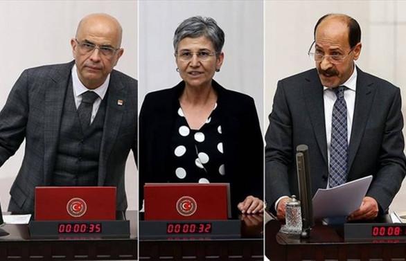 Milletvekilliği düşürülen 3 isim tutuklandı