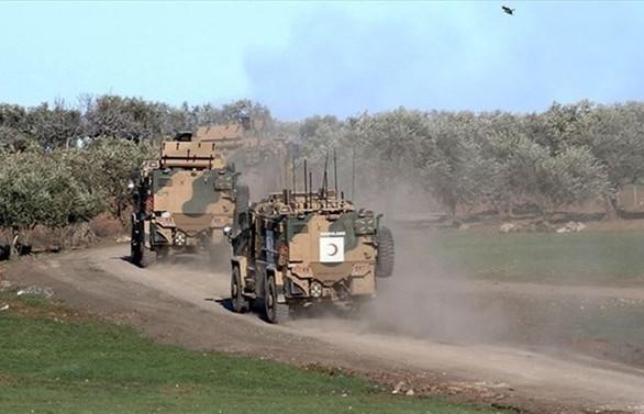 İdlib'de bir asker şehit oldu, 2 asker yaralandı