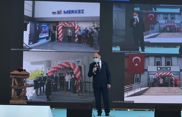 Kayseri'de üç kütüphane, bir okuma salonu açıldı