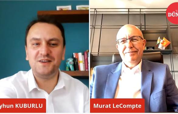 Murat Lecompte Dünya Talks'un konuğu