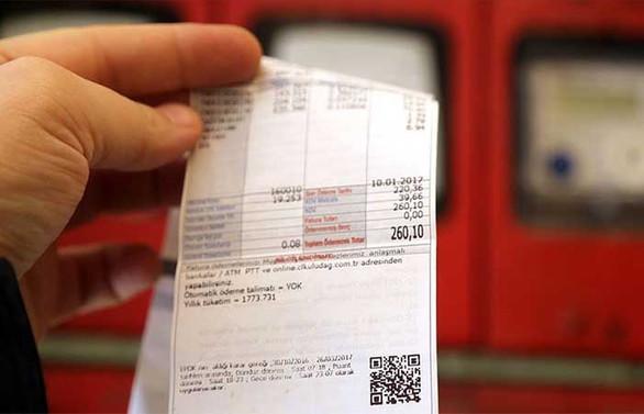 Elektrik faturalarına yeşil işaret