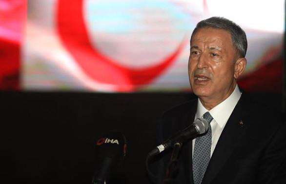 Bakanı Akar'dan Doğu Akdeniz mesajı