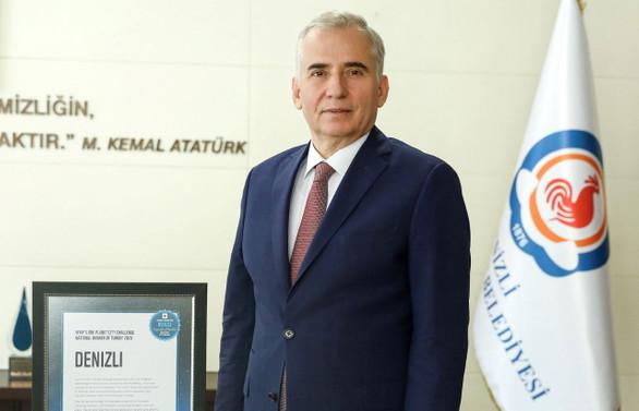 Denizli Büyükşehir'e uluslararası çevre ödülü