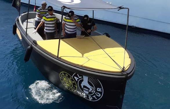 Kahve Dünyası teknelere servis hizmetine başladı