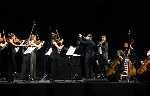 İDSO, ilk açıkhava konserini gerçekleştirdi