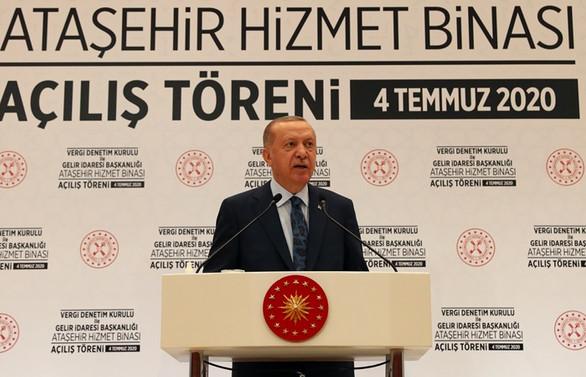 Erdoğan: Enflasyonu en kısa sürede tek haneli rakamlara düşürmekte kararlıyız