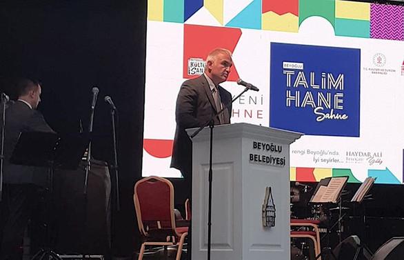 Beyoğlu Talimhane Sahne açıldı