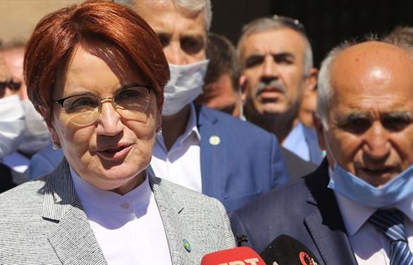 İYİ Parti Genel Başkanı Meral Akşener'den seçim açıklaması