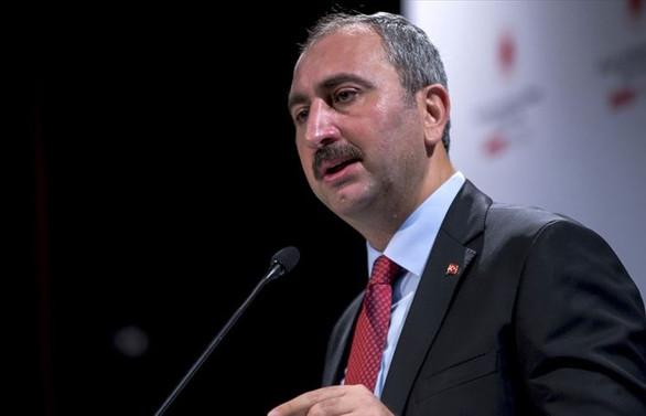 Adalet Bakanı Gül'den Yunanistan ve Mısır'a tepki
