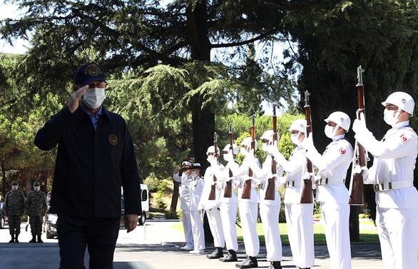 Akar ve TSK komuta kademesi Donanma Komutanlığında