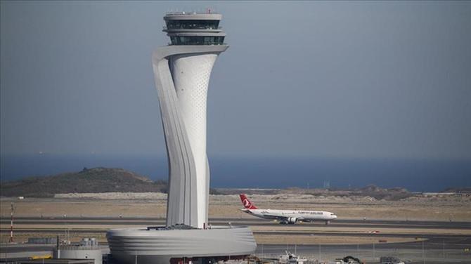 İstanbul Havalimanı'nda COVID-19 denetimi