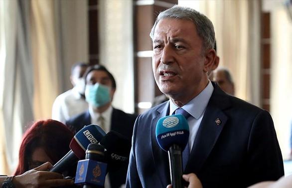 Milli Savunma Bakanı Akar'dan Libya açıklaması