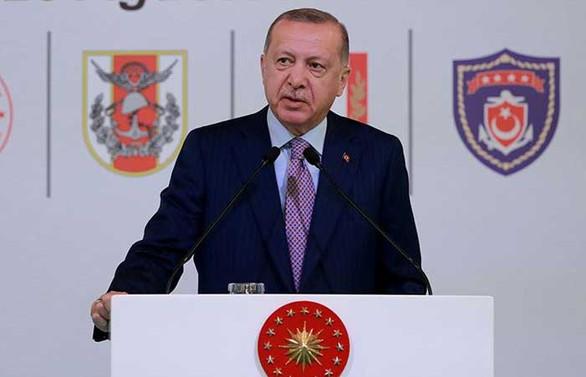 Cumhurbaşkanı Erdoğan: Türkiye savunma sanayisinde yoluna devam ediyor
