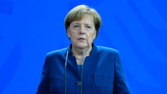 Merkel'den Yunanistan'a Doğu Akdeniz desteği