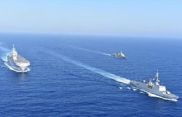 Yunanistan, Fransa ve İtalya'nın ortak tatbikatı tamamlandı