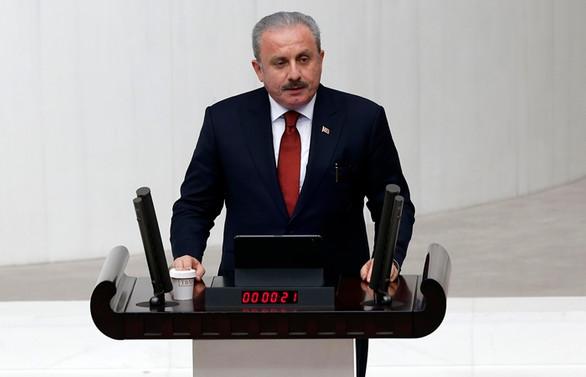 TBMM Başkanı Şentop'tan Doğu Akdeniz değerlendirmesi