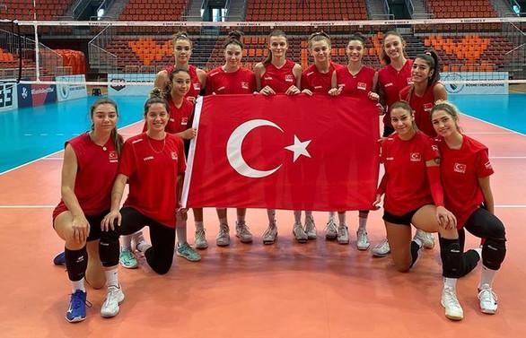 Türkiye 19 Yaş Altı Kadın Voleybol Milli Takımı Avrupa Şampiyonu oldu