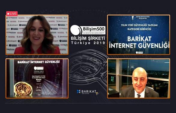 Barikat iki markasıyla Türkiye'nin 'İlk 500 Bilişim Şirketi' arasında