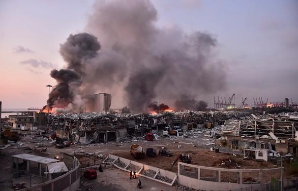 Beyrut'ta patlama: 100'den fazla ölü, 4 bini aşkın yaralı